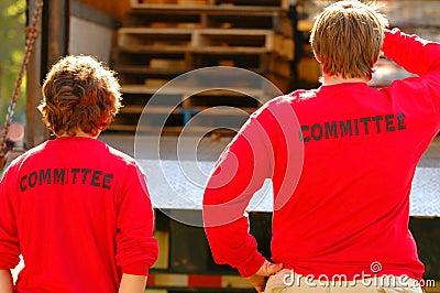 Committee Members in Action