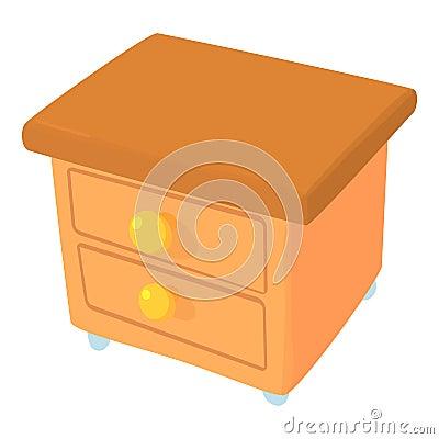 Commode icon, cartoon style Vector Illustration