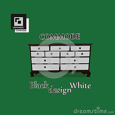 Commode illustration Vector Illustration