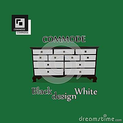 Commode illustration Vector Illustration