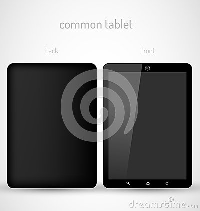 Common Black tablet