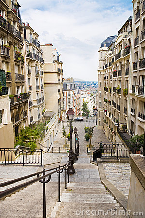 Common French street