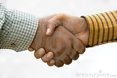 Common Mens Handshake