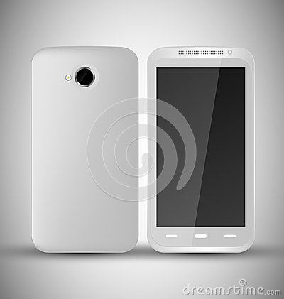 Common white SmartPhone