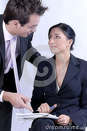 Communicating business