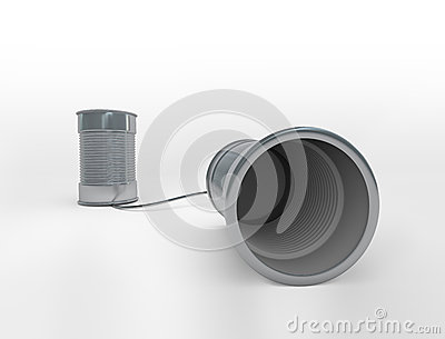 Communicating cans