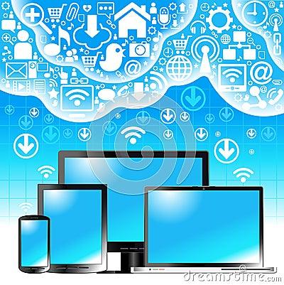 Communication  cloud
