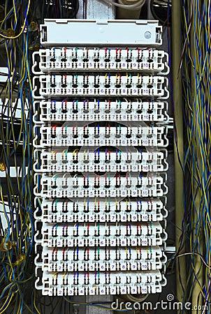 Communication control circuit panel.