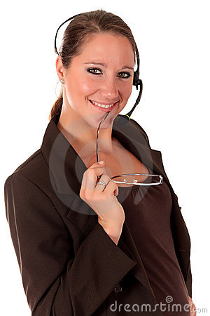 Communication de femme de service SVP