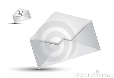 Communication Email concept illustations