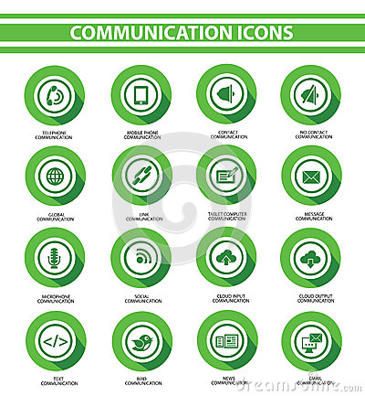 Communication,Green buttons