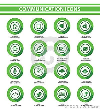 Communication,Green buttons