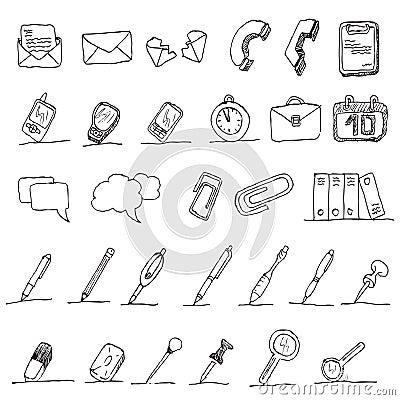 Communication hand draw element