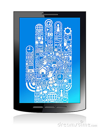 Communication  hand  tablet