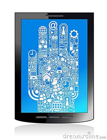Communication  hand  tablet