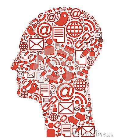 Communication-head