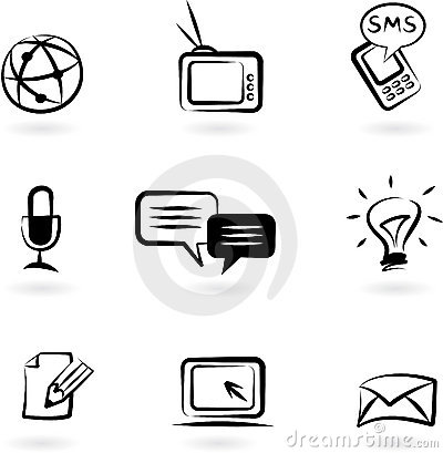 Communication icons 1