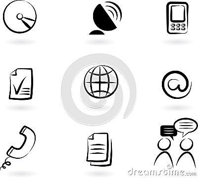 Communication icons 2
