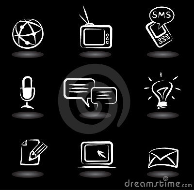 Communication icons 5