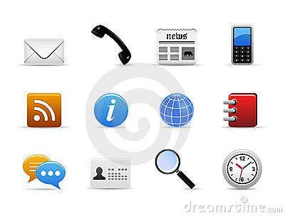 Communication Medium Icon Vector