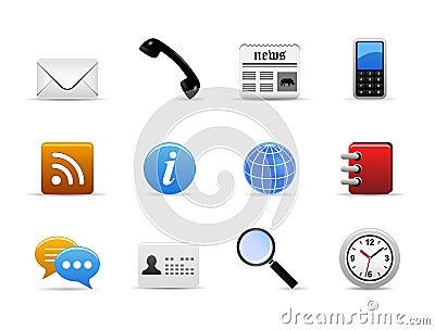 Communication Medium Icon Vector