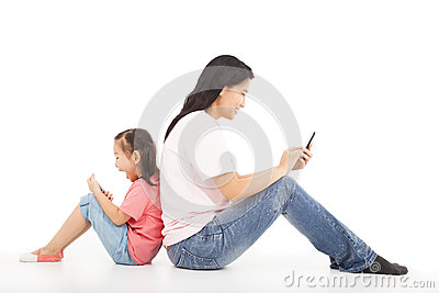 Communication between mother and kid
