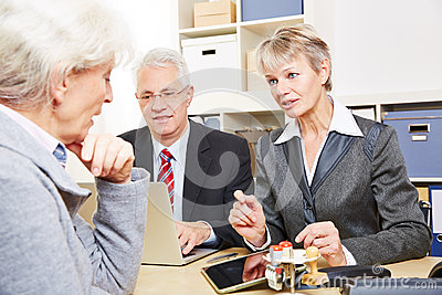 Communication over financial issues