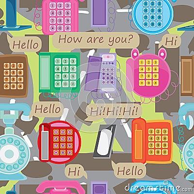 Communication Road Seamless Pattern_eps