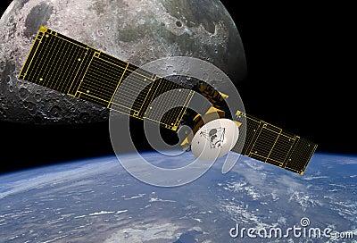 Communication Satellite-Electronics