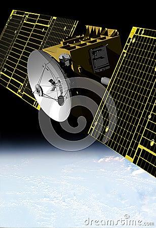 Free COMMUNICATION SATELLITE Stock Images - 10580984