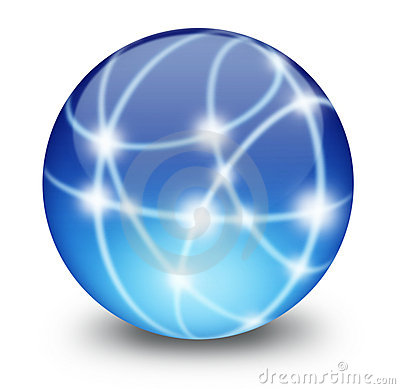 Free Communication Sphere Royalty Free Stock Photos - 3185958