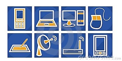 Communication/Technology Icons