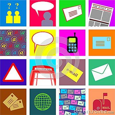 Communication tiles