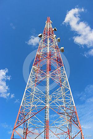 Communication tower.