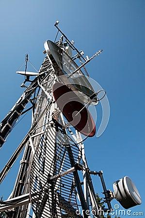 Communication Tower: Gsm, Umts, 3G and radio