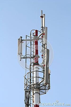 Free Communications Antenna Detail Royalty Free Stock Photo - 3214315