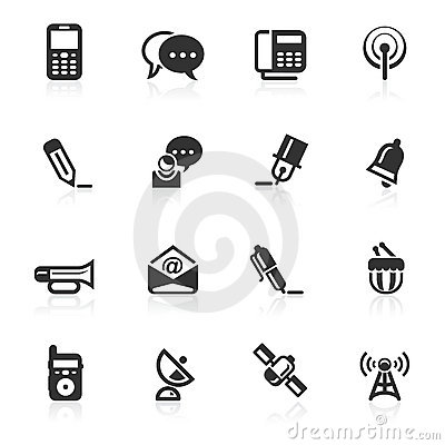 Communications Icons 2 - minimo series