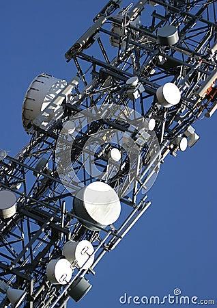 Free Communications Mast Royalty Free Stock Photos - 106548