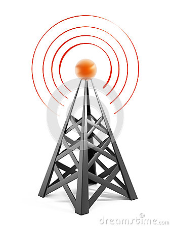 Free Communications Tower Stock Images - 42289324