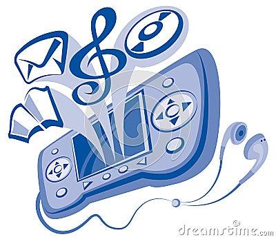 Communicator and earphones