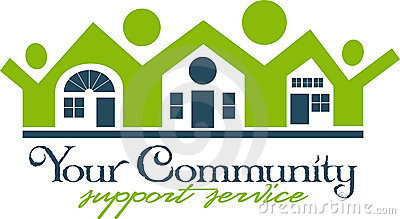 Community House and People Icon