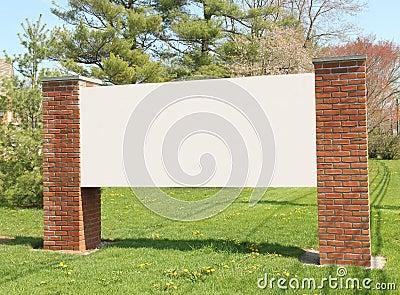Community message board.