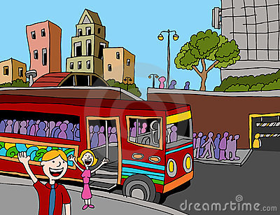 Commuter Bus Riders