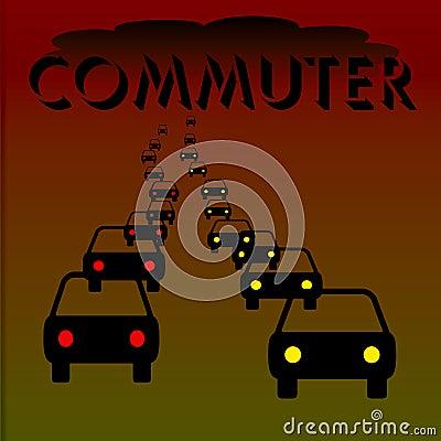 Commuter illustration