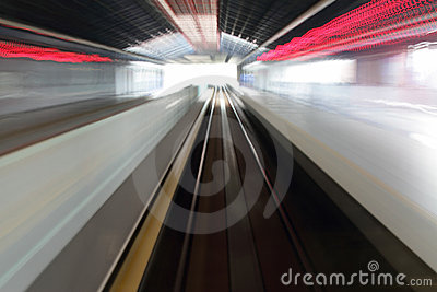 Commuter Station Motion Blur