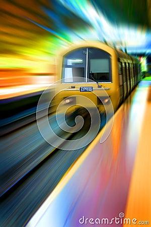 Free Commuter Train Express Stock Photo - 15342110