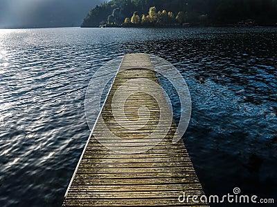 A Como Lake pier - Italy