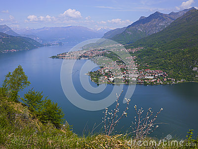 Como and Lecco lake