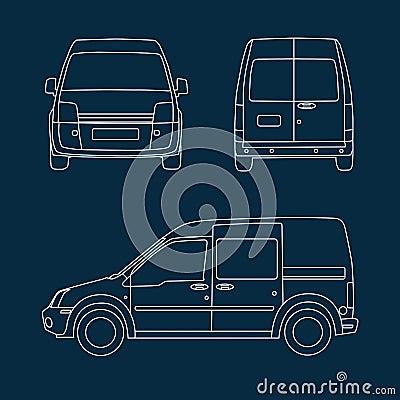 Compact delivery van