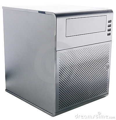 Compact desktop server